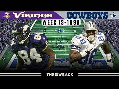 The Game That Made Randy Moss a LEGEND (Vikings vs. Cowboys 1998, Week 13)