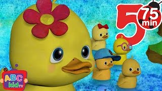Five Little Ducks | +More Nursery Rhymes & Kids Songs - Cocomelon (ABCkidTV)
