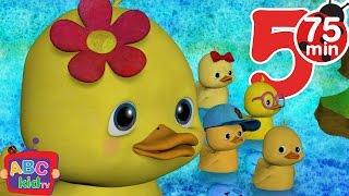 Five Little Ducks | +More Nursery Rhymes & Kids Songs - Cocomelon (ABCkidTV)