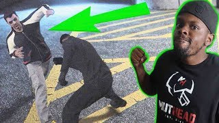 DIRTY BACK ALLEY FIGHT CLUB! SOME IS PISSED OFF! - GTA 5 Online Funny Moments