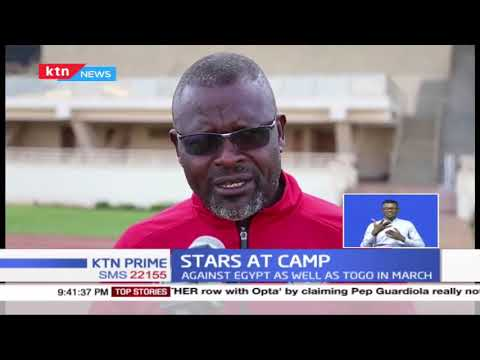 Stars at camp: Harambee Stars continue shaping up as they prepare for AFCON qualifiers