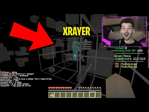 SPOILED KID Caught XRAYING In Minecraft.. THEY LEFT THE SERVER!!