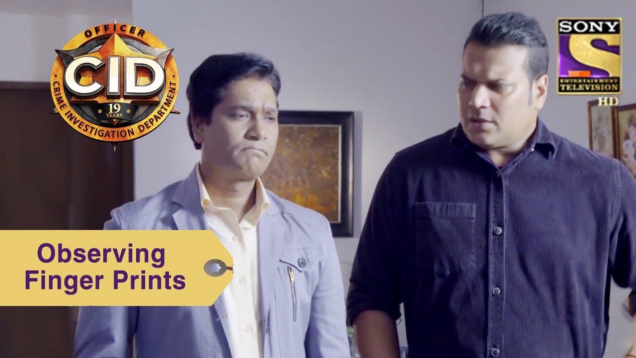 Your Favorite Character | Abhijeet & Daya Look For Finger Prints