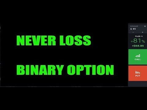Live strategy for binary options