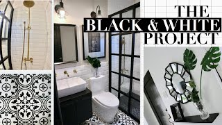 HOME MAKEOVER : FULL HOUSE TOUR - The Black & White Project | Taguig City, Philippines
