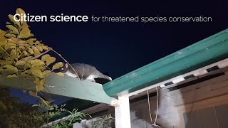 Citizen science for threatened species conservation