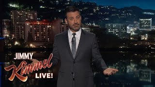 Jimmy Kimmel Asks Donald Trump to End Shutdown