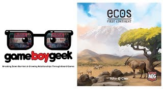 Ecos: First Continent Review with the Game Boy Geek