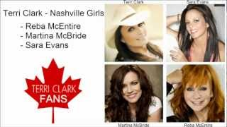 Terri Clark - Nashville Girls (Reba McEntire,Martina McBride,Sara Evans) Lyric Video HD