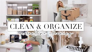 QUARANTINE EXTREME SPRING CLEAN & DECORATE WITH ME 🌸 Home Cleaning Motivation & Organization