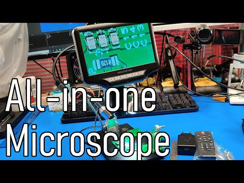 Andonstar AD407 HDMI Digital USB Microscope