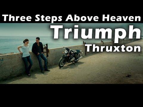 Famous Motorcycle. Triumph Thruxton