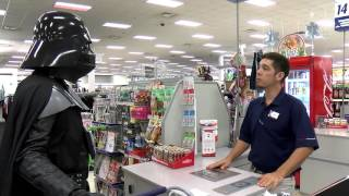 Darth Vader Goes Shopping