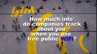Free Public Wi-Fi hotspots: How companies track you online