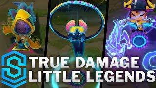 True Damage Little Legends | QiQi, Ossia and Melisma