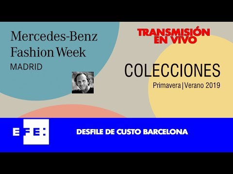 Desfile Custo Barcelona en Mercedes Benz Fashion Week Madrid