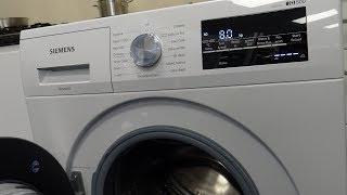 Siemens WM14T481GB 1400 Spin Washing Machine Demo