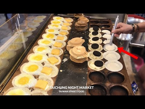 TAIWAN STREET FOOD - THIS COUNTRY HAS MANY UNIQUE FOODS #248