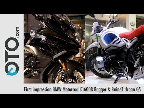 First impression BMW Motorrad K1600B Bagger & RnineT Urban GS I OTO.Com