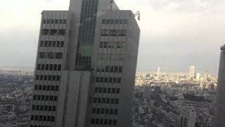 Buildings Swaying 9.1 Earthquake -  Scary Footage