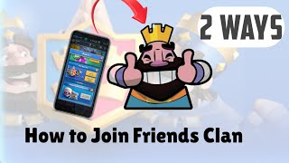 How to join our friend's clan in clash royale | Invite your Friend | In hindi by TECHNICAL TANMAY