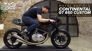 Royal Enfield Continental GT 650 by Rough Crafts