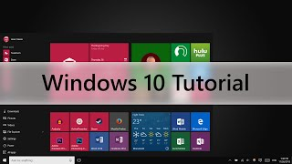 Windows 10 Tutorial (Beginners Guide)