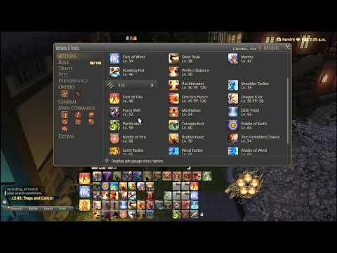 FFXIV Monk Controller and Macro Guide [Level 70] - смотреть онлайн