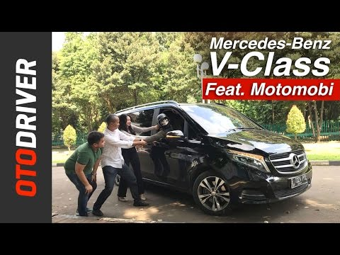 Mercedes-Benz V-Class 2017 Review Indonesia | OtoDriver | Feat. MOTOMOBI