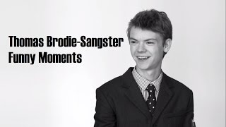 Томас Сангстер, Thomas Brodie-Sangster Funny Moments