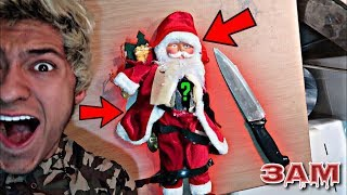 DO NOT CUT OPEN HAUNTED SANTA CLAUS DOLL AT 3AM!! *OMG WHAT
