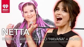 "Camila Cabello ""Havana"" + More Remixed By Netta! | iHeartRadio Party Wheel"