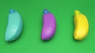 Surprise Egg Opening Memory Game for Kids!  Banana Banana Banana!