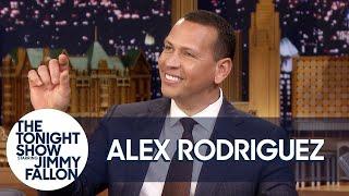 Alex Rodriguez Reveals His Proposal to Jennifer Lopez