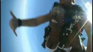 Kaila Maples Sky Dive in Aruba 2011