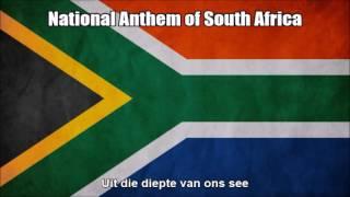 National Anthem of South Africa - Nightcore Style With Lyrics