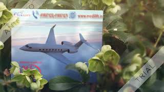 Hire Hassle-Free Air Ambulance Service in Delhi by Medilift