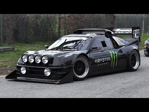 900+HP Ford RS200 Pikes Peak - Liam Doran' Hillclimb Monster at Monza Rally Show 2017!