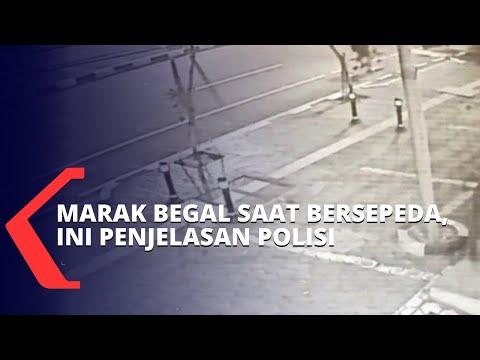 polisi ungkap perburuan pelaku begal pesepeda masih terkendala cctv ini penjelasannya