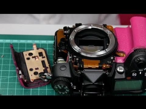 Guide to Painting a Nikon D7000 Pink
