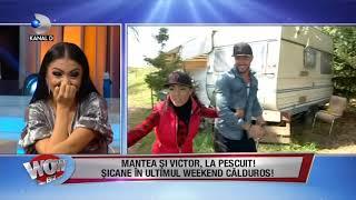 WOWBIZ (31.10.2017) - Andreea Mantea si Victor Slav, la pescuit! Partea III