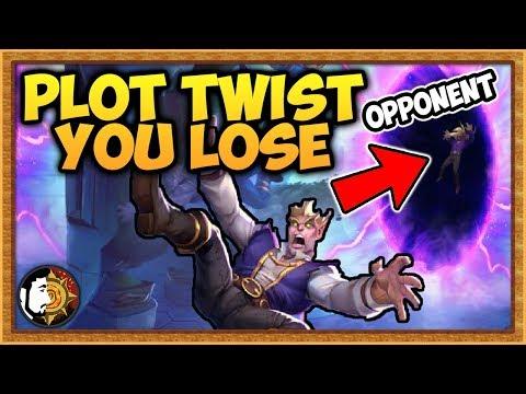 Hearthstone: Plot Twist You Lose Warlock - Rise Of Shadows
