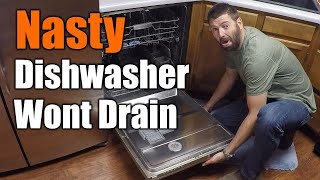 Easy Fix For Dishwasher That Wont Drain   THE HANDYMAN