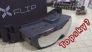 XFLIP is the new TOPSKY: Have they improved? // XFLIP FPV Goggles Review