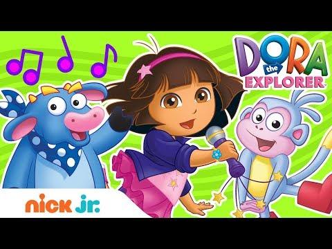 Fun Sing-Along Songs w/ Dora the Explorer! 🎤🎵 Nick Jr.