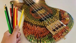 I Built a Reggae Bass Out of Colored Pencils