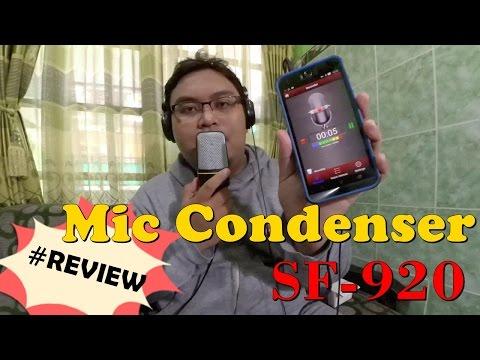 Gadget - Review Mic Condenser SF-920 (Bisa Buat Sing! Smule) | Microphone