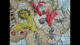 DIY Gift Tags Or Journal Tags