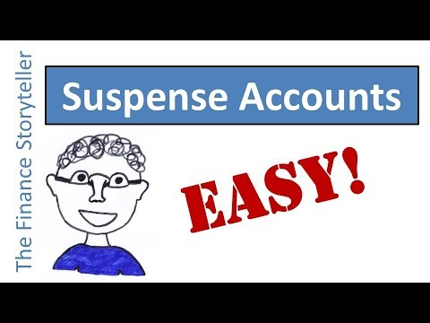 Suspense accounts explained - YouTube