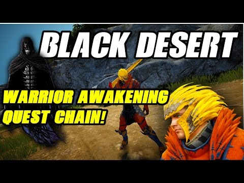 Black Desert - Berserker Awakening Quest Chain - смотреть